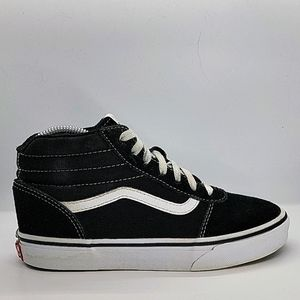 Youth Vans suede/canvas mid-tops